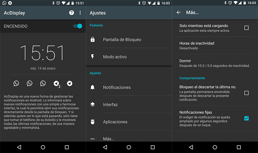 Actualiza Android con AC Display