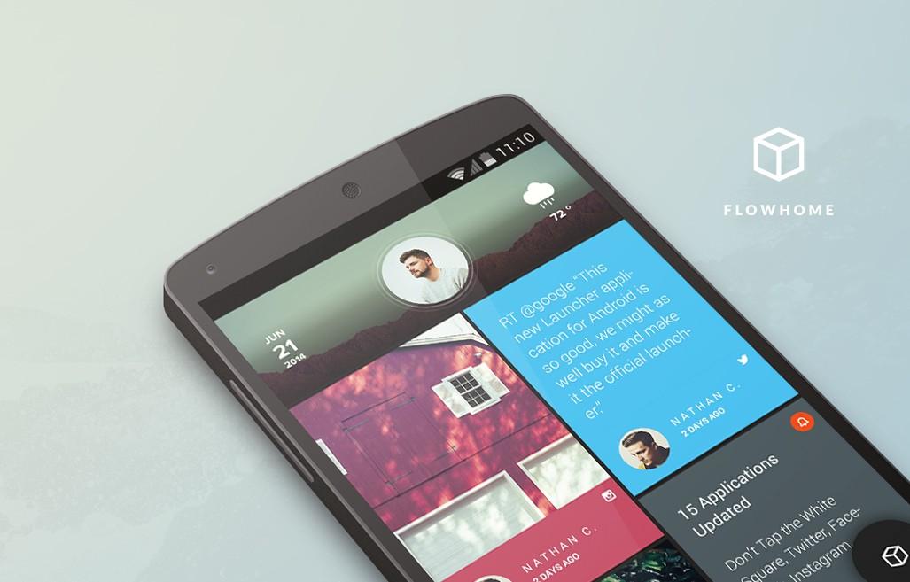 Actualizar Android con el nuevo lanzador Flow Home