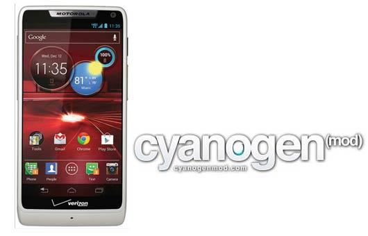 Actualizar Android 5.0 en Motorola Droid RAZR con CyanogenMod 12