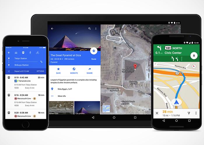 Actualiza Android con el nuevo Google Maps