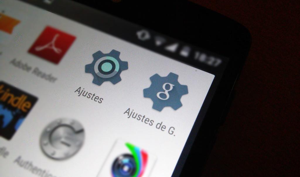 Nueva actualización de Google Play Services