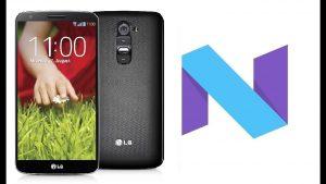 Actualizar Android 7 en LG G2