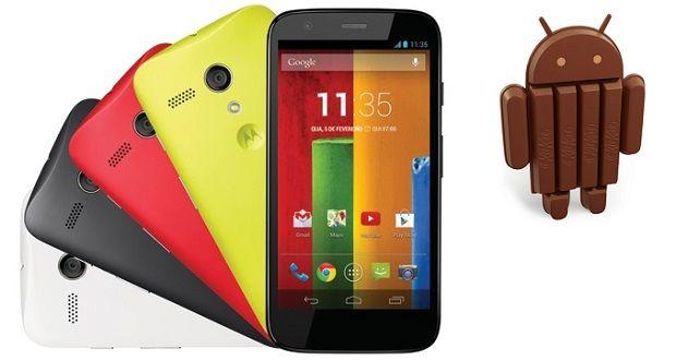 actualizar Android 4.4.3 en el Motorola Moto G