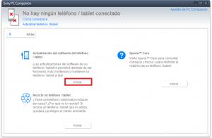 Desbloquear el Sony Xperia Z1 al Actualizar Android