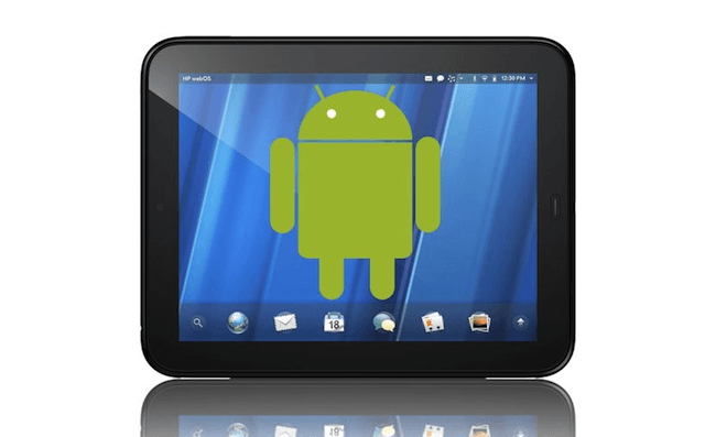 android para HP Touchpad