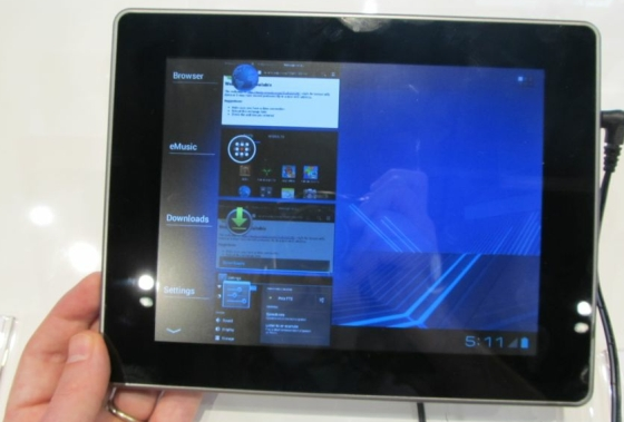 coby y tablets android 4