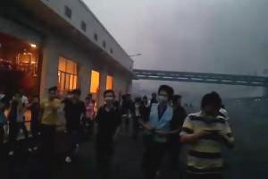 explosion en Foxconn mayo 20 2011