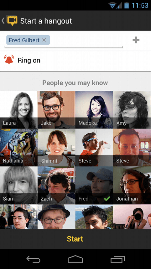 google+ actualizar android