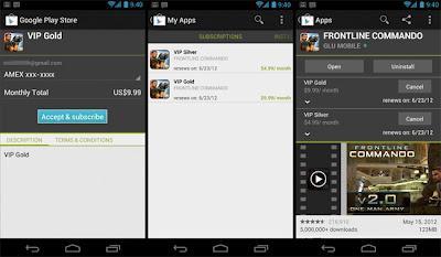 aplicación de pago gratis google play suscripción