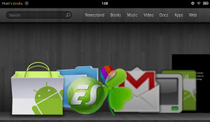 Android Market en la Kindle Fire
