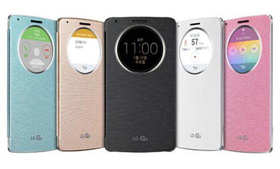 LG QuickCircle Case, la funda inteligente del LG G3