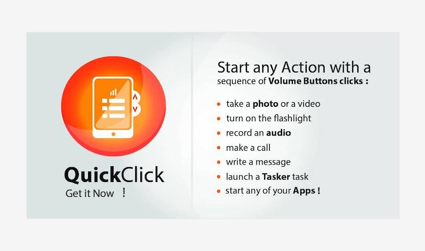 Dale vida a tus botones de volumen con Quick Click