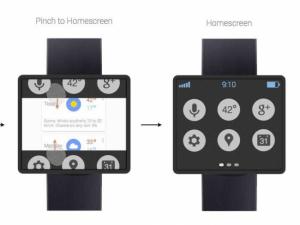 reloj inteligente de Google en el Google I/O