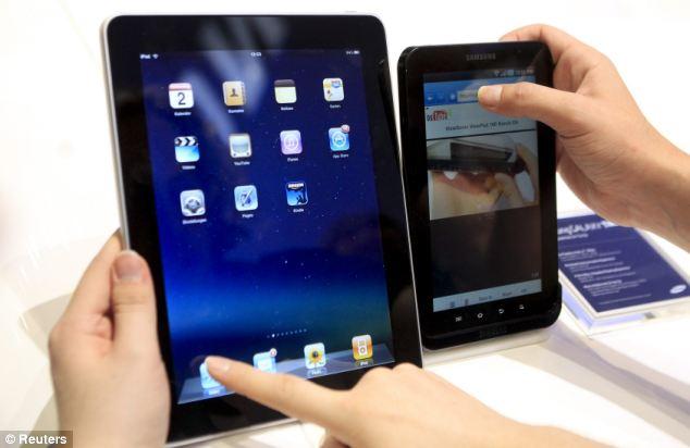 Resolución de la Tablet