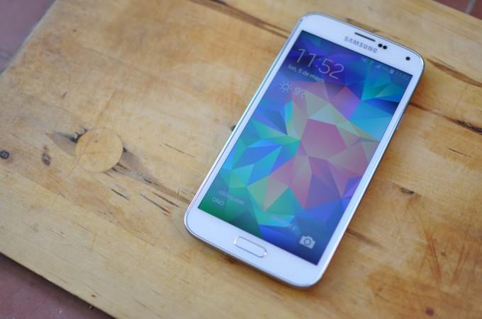 Primera actualización del Samsung Galaxy S5