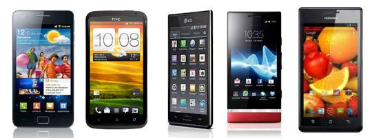 smartphones-Android-de-gama-alta