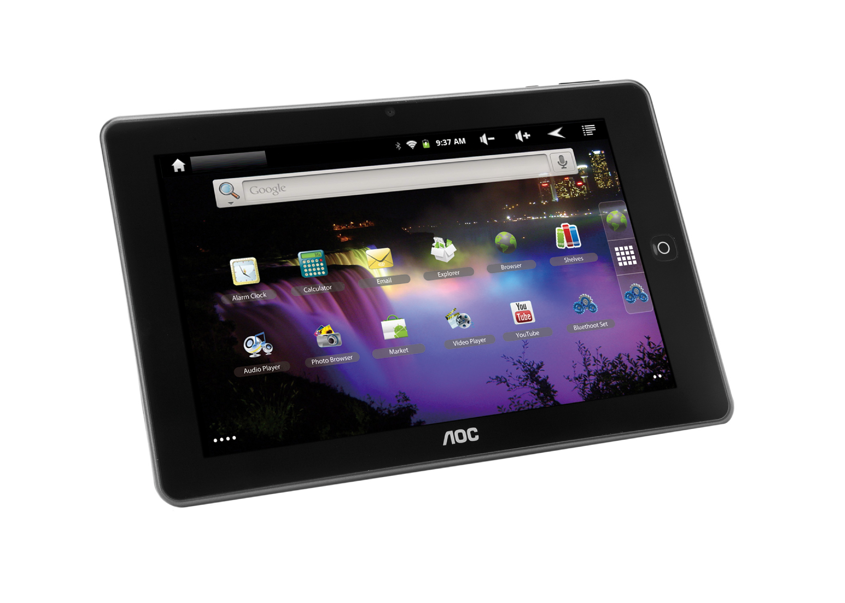 tablet aoc breeze MW0821