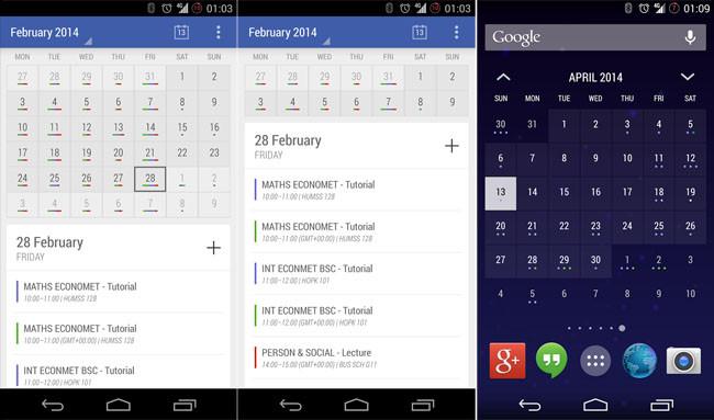 Actualiza tu calendario con Today Calendar